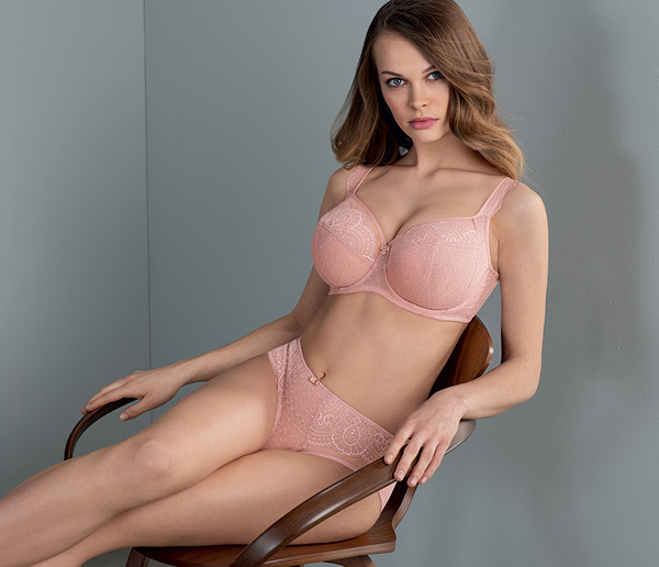 c2f3bdec1a7ea Selma Big Cup Underwire Bra from Anita Rosa Faia in new color rosewood  featured on Lingerie