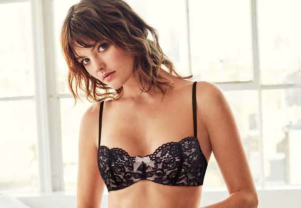 b.tempt'd new Ciao Bella Balconette Bra in Night - featured on Lingerie Briefs