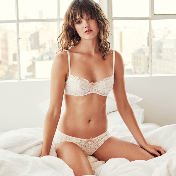 b.tempt'd new Ciao Bella Collection in Vanilla Ice or Night - featured on Lingerie Briefs