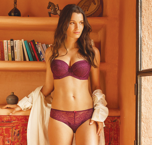 Panache Petra balconnett bra in new purple hue for SS19 featured on Lingerie Briefs