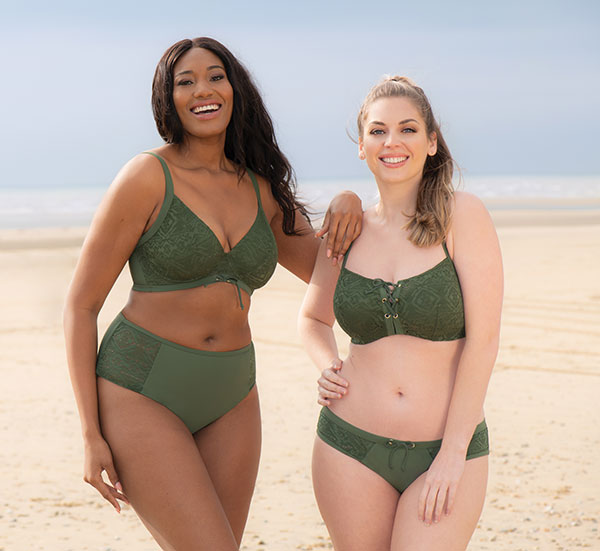 Curvy Kate Rush Swim Collection on Lingerie Briefs