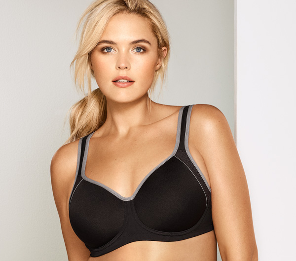 Wacoal's new Sport Contour Underwire Bra 2019 featured on Lingerie Briefs