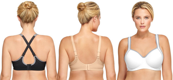 Wacoal's new Sport Contour Underwire Bras 2019 in great colors featured on Lingerie Briefs