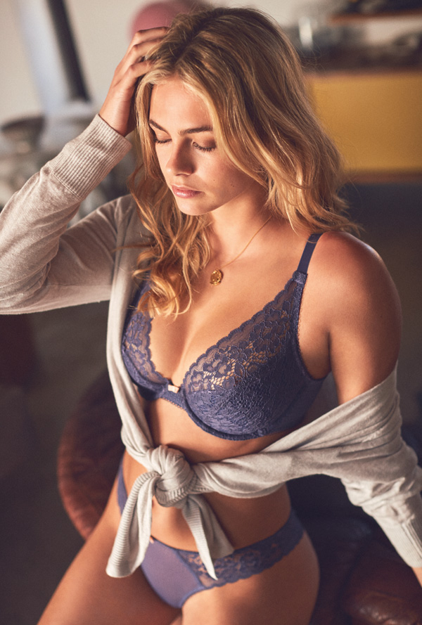 Cleo by Panache's Everly in gorgeous Amethist featured on Lingerie Briefs