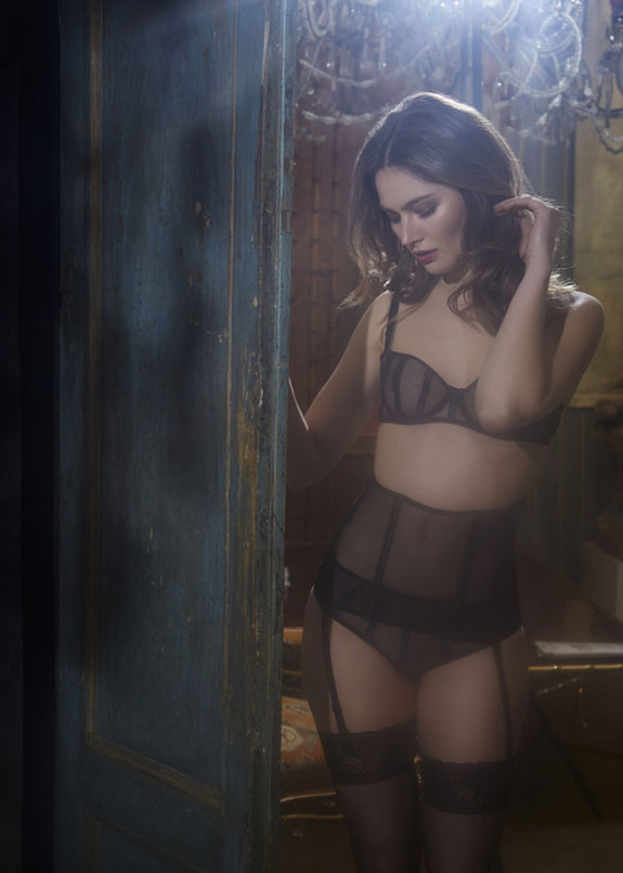 Implicite Lingerie photographed by Stephanie Hynes on Lingerie Briefs
