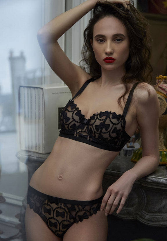 Aubade Lingerie photographed by Stephanie Hynes on Lingerie Briefs