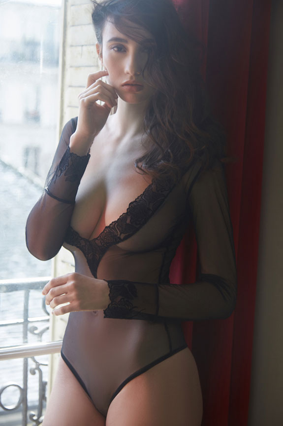 Cadolle Lingerie photographed by Stephanie Hynes on Lingerie Briefs