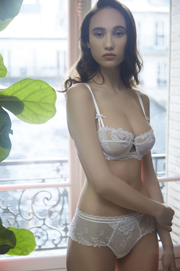 Lise Charmel Lingerie photographed by Stephanie Hynes on Lingerie Briefs