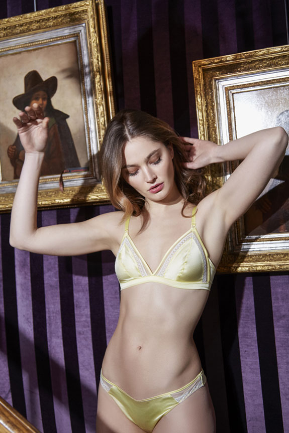 Maison Lejaby Lingerie photographed by Stephanie Hynes on Lingerie Briefs