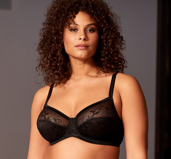 Net Effect Underwire Bra featured on Lingerie Briefs