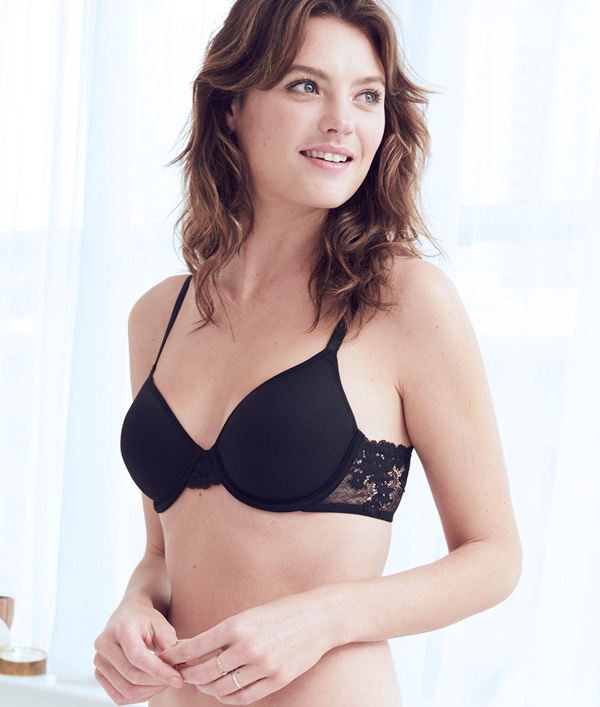 b.tempt'd Insta Ready T-Shirt Bra featured on Lingerie Briefs