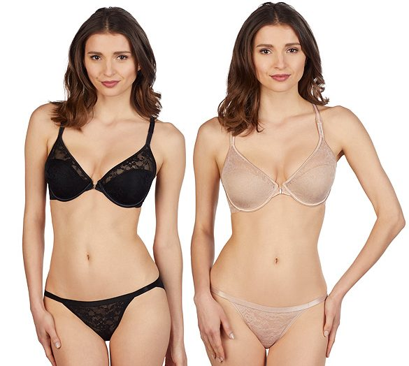 Le Mystere's Lace Perfection Convertible Racerback bra featured on Lingerie Briefs