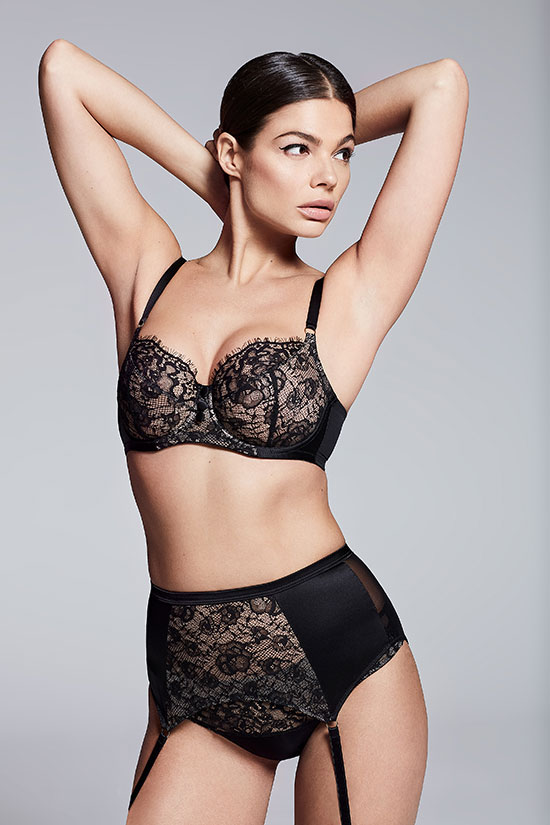 Katherine Hamilton Luxury Lingerie DD up to HH (British sizes/ L USA size )cup on Lingerie Briefs