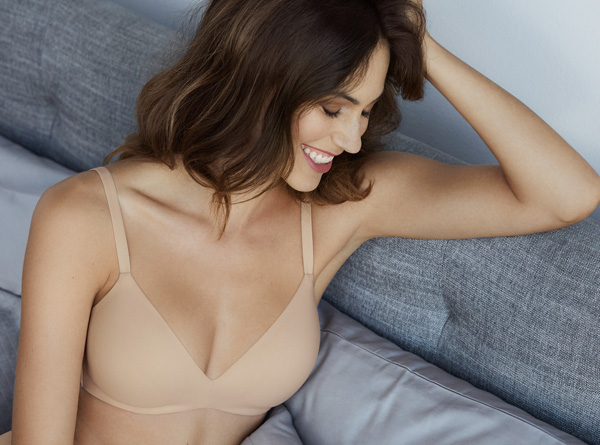 Wacoal How Perfect Wire-Free T-shirt bra featured on Lingerie Briefs