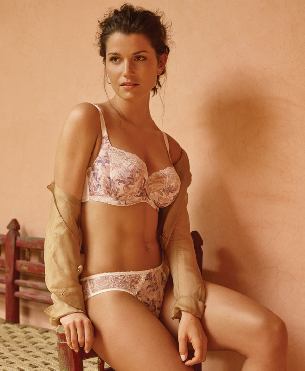 Panache's new Jasmine's paisley floral Collection featured on Lingerie Briefs