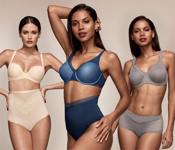 Triumph introduces 'Sensation' shapewear collections for SS19 featured on Lingerie Briefs
