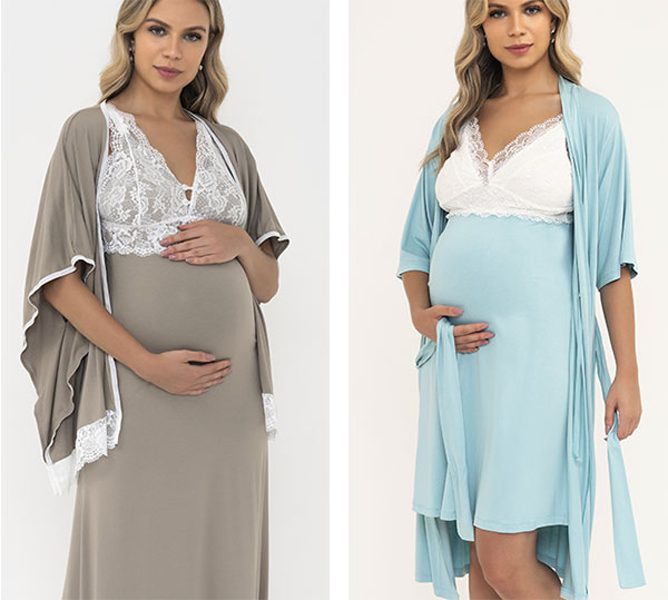 Mari M Maternity sleepwear on Lingerie Briefs