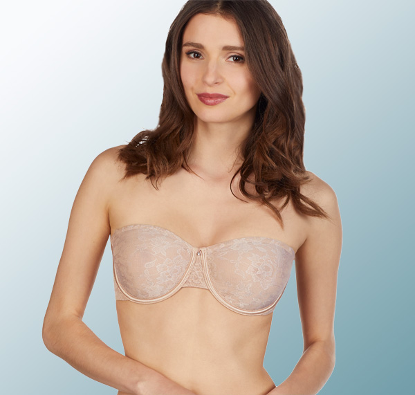 634b61f173d Le Mystere Lace Perfection Unlined Strapless in natural featured on  Lingerie Briefs