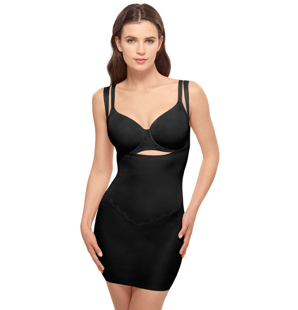 Wacoal Introduces Inside Edit – a light yet powerful assortment of shaping solutions including a brief, high-waist thigh shaper, and open bust shaping slip. featured on Lingerie Briefs