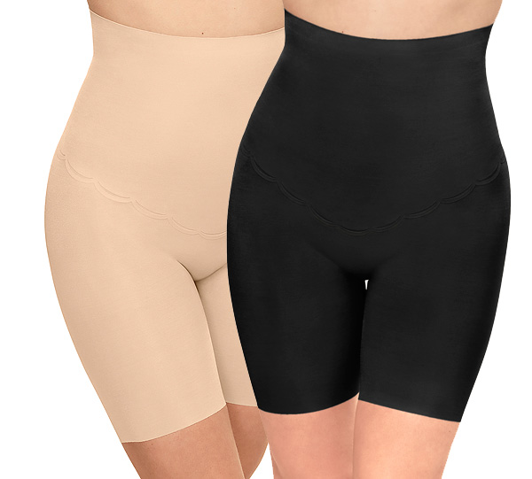 Wacoal's Inside Edit Hi-Waist Thigh Shaper featured on Lingerie Briefs