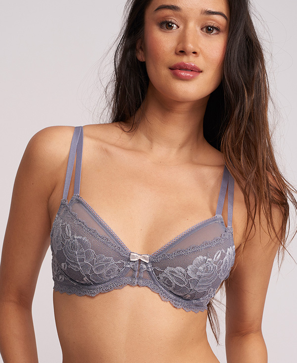 Silver Dreams Demi Cup Bra featured on Lingerie Briefs
