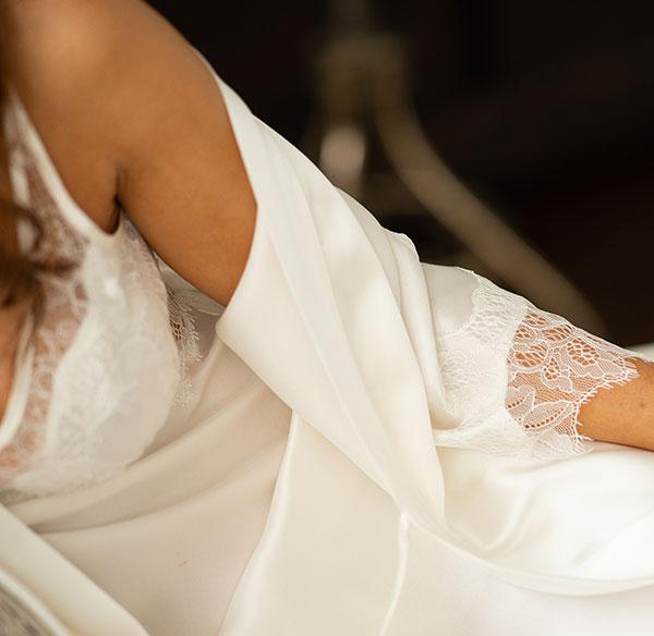 NK iMODE Silk Bridal Lingerie on Lingerie Briefs