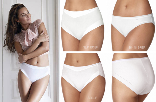 Janira Cotton Band Panties in three gorgeous styles - featured on Lingerie Briefs
