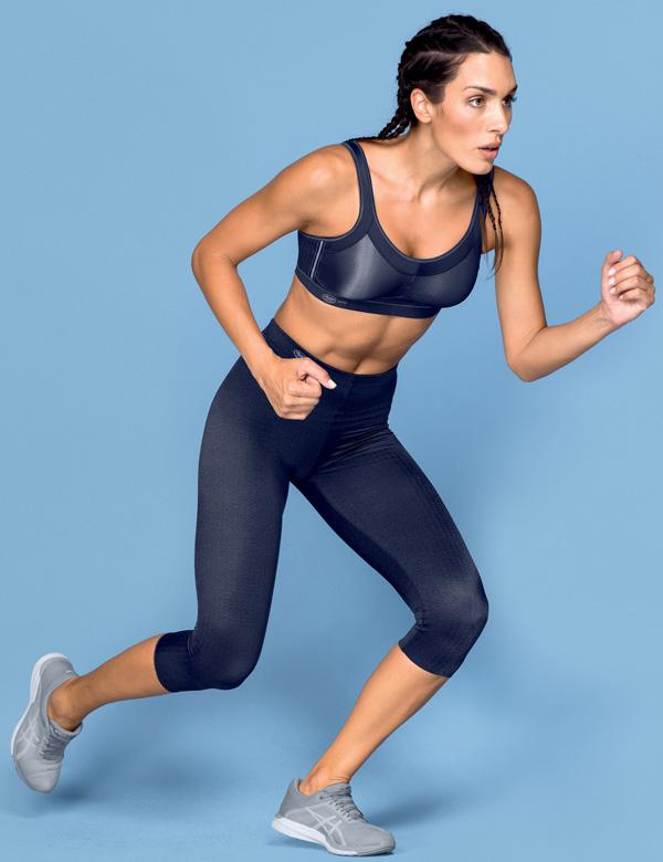 Anita Active massaging sport tights - capri 3/4 length - featured on Lingerie Briefs