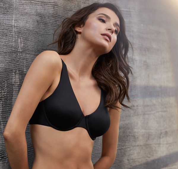 Le Mystere ~ Infinite Comfort Unlined Bra as featured on Lingerie Briefs