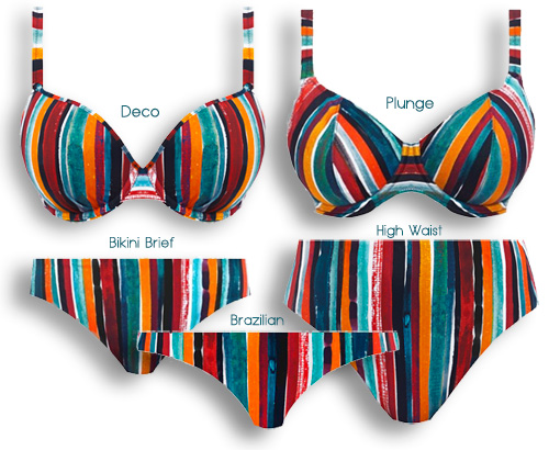 From Freya - Bali Bay swim collection - featured on Lingerie Briefs