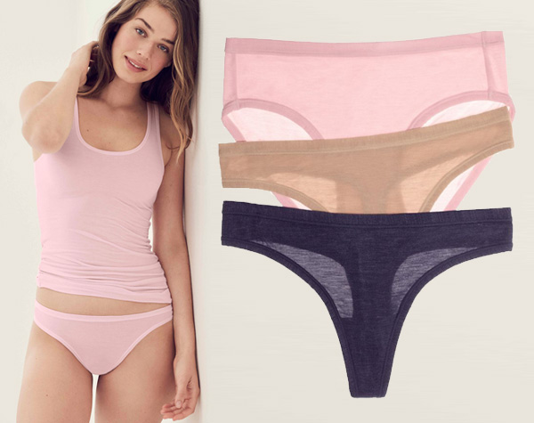 b.tempt'd Future Foundation Ultra Soft Bikini and Thong featured on Lingerie Briefs