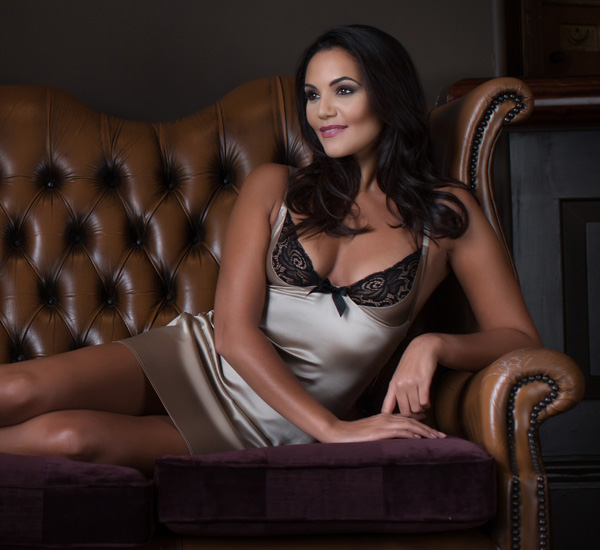 Emma Harris Luxury Lingerie - signature slip featured on Lingerie Briefs