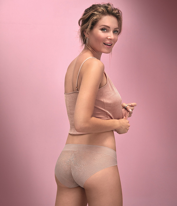 Janira Magic Band Panties - new 'Cosmetic' color added - featured on Lingerie Briefs