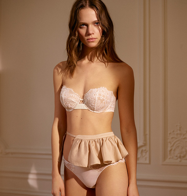 db300c5df5d By ELLEN LEWIS Oui Bridal collection by Maison Lejaby as featured on Lingerie  Briefs