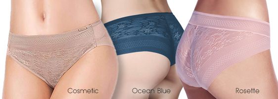 Janira Magic Band Panties - new colors added - featured on Lingerie Briefs