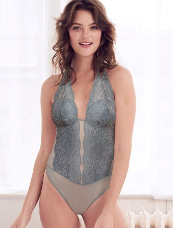 b.tempt's Ciao Bella Bodysuit now in new Flint Stone color - featured on Lingerie Briefs