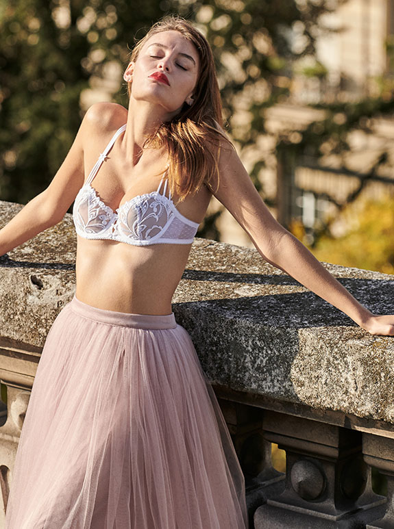 Aubade Bridal Lingerie as featured on Lingerie Briefs