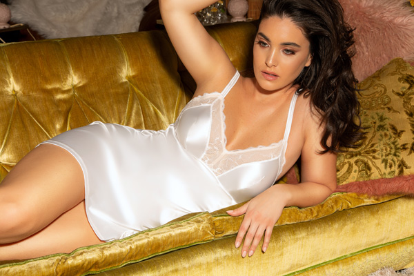 Parfait Soft and sensual Vanessa Chemise featured on Lingerie Briefs