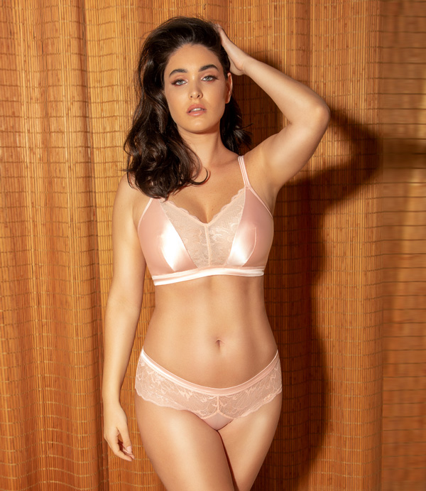 Parfait Vanessa Bralette and Brief SS20 featured on Lingerie Briefs