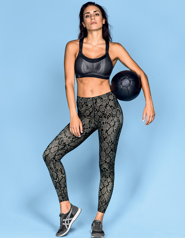 Anita Active Massaging Sport Tights now in python snake print - featured on Lingerie Briefs
