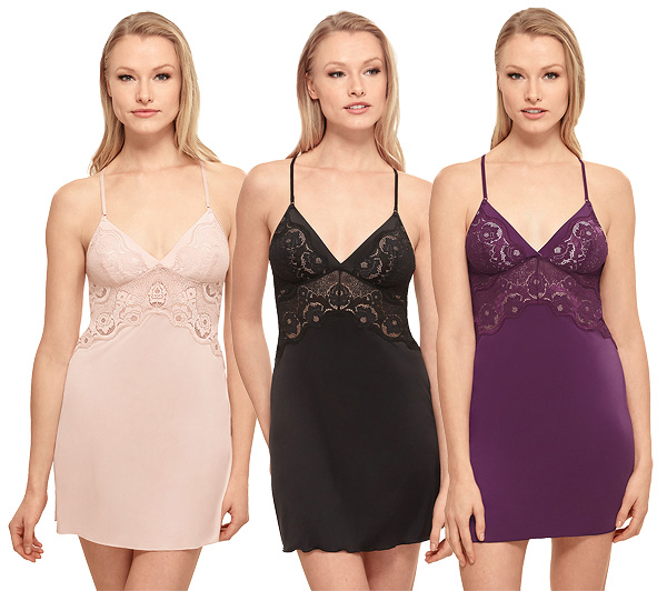 Wacoal's new Style Standard Chemise featured on Lingerie Briefs