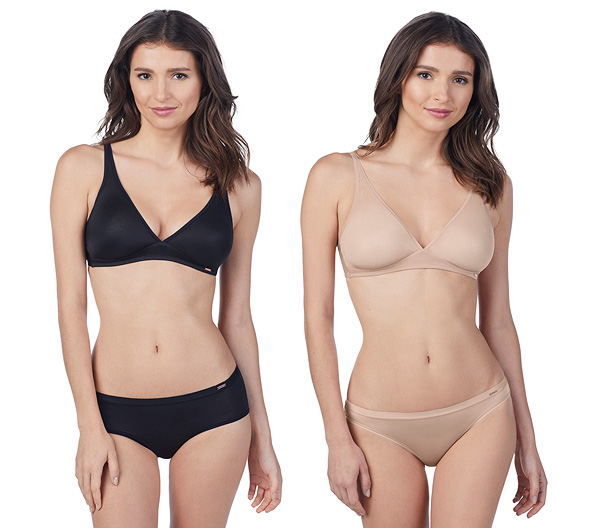 Le Mystere Infinite Comfort Bralette in 3 colors as featured on Lingerie Briefs