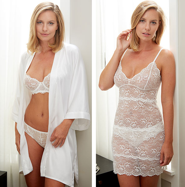 Samantha Chang Bridal Lingerie as featured on Lingerie Briefs