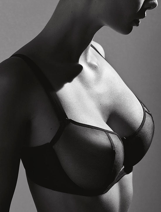 Aubade sheer bra as featured on Lingerie Briefs Nudessence full cup bra on Lingerie Briefs