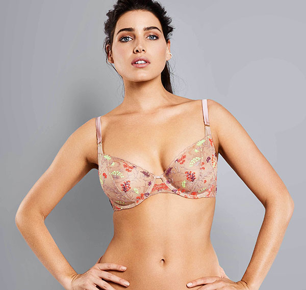 Adina Reay Veronica Bra as featured on Lingerie briefs