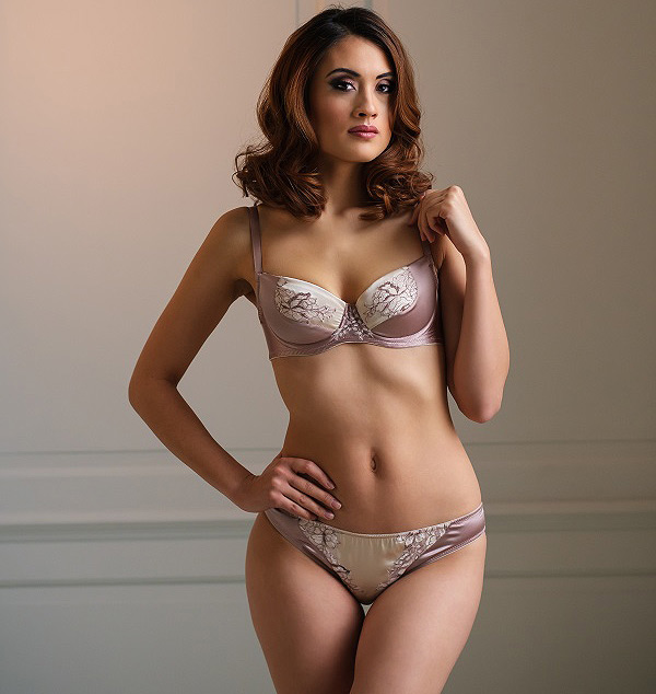 Emma Harris - In Finer Detail - Morgana Bra and panty featured on Lingerie Briefs