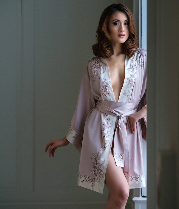Emma Harris - In Finer Detail - Morgana Kimono featured on Lingerie Briefs