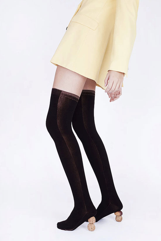 Simone Wild legwear featured by Alison Connolly in the Gallery on Lingerie Briefs