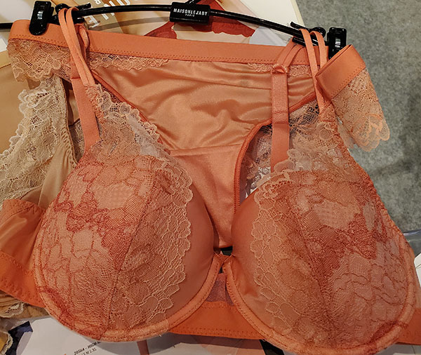 Lejaby as seen at Curve NY for Spring 2020 as featured on Lingerie Briefs