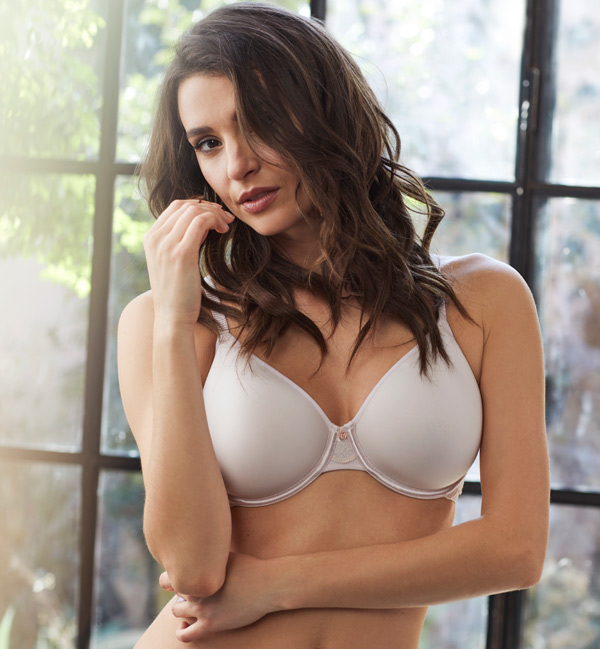Le Mystere Light Luxury Spacer Bra featured on Lingerie Briefs